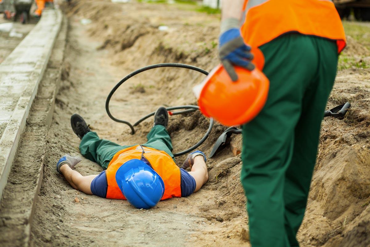 incidenti sul lavoro - operaio infortunato, Infortunistica Tossani