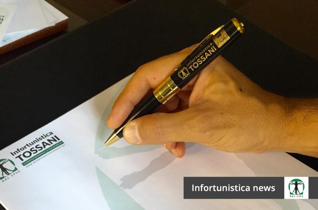 Spypen articolo blog, Infortunistica Tossani