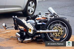 Moto incidentata articolo blog, Infortunistica Tossani