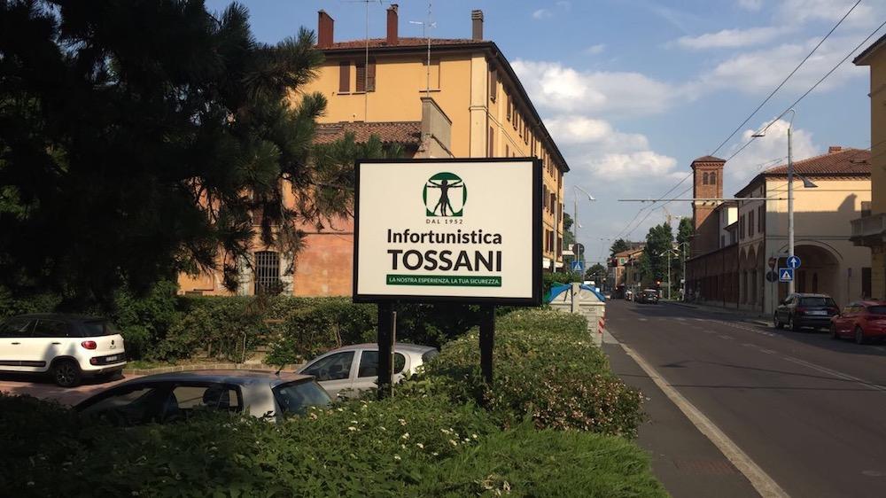 sede San Lazzaro di Savena BO, Infortunistica Tossani