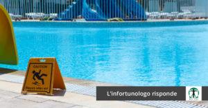 """segnale di """"attenzione si scivola"""" a bordo piscina , Infortunistica Tossani"""