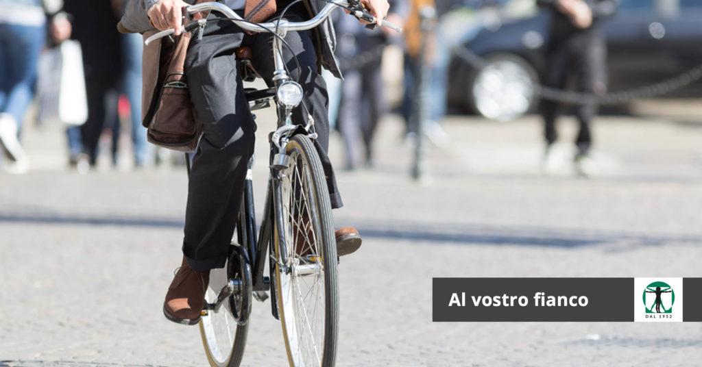 bicicletta in città, Infortunistica Tossani