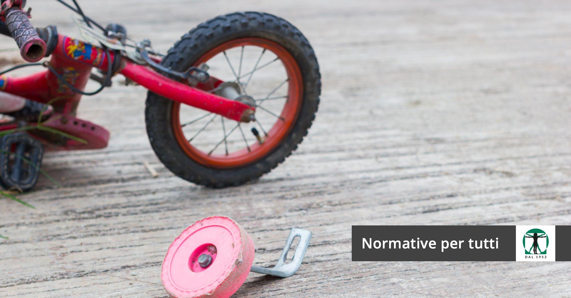 triciclo rotto, Infortunistica Tossani
