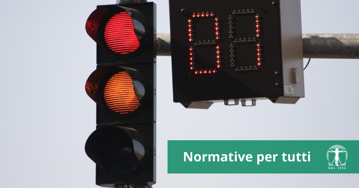 semaforo con countdown semaforico, infortunistica Tossani