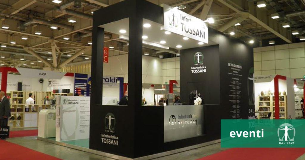 stand Infortunistica Tossani TanExpo 2018 Bolognafiere