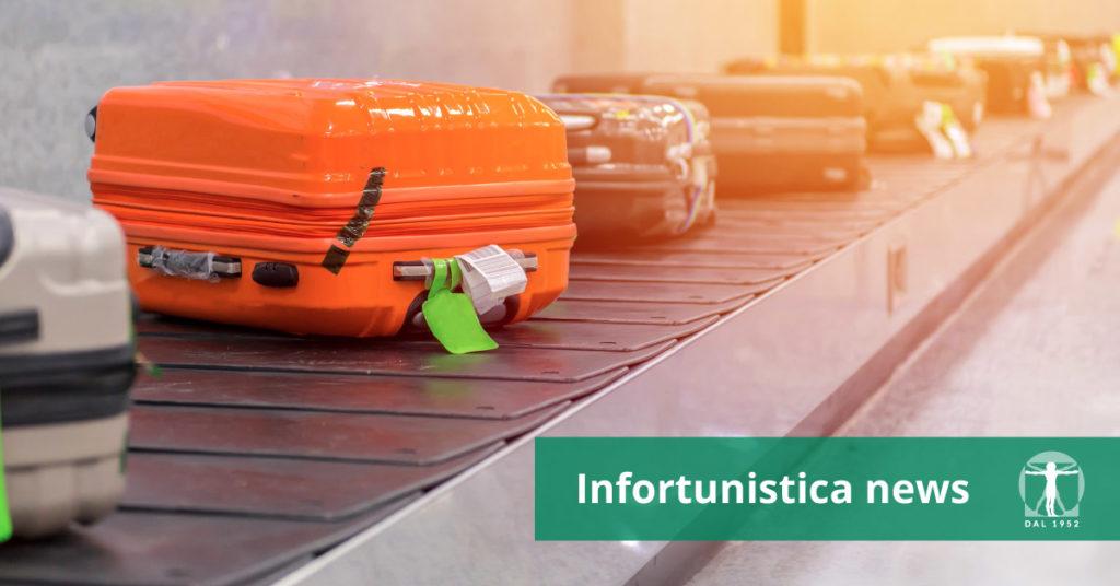 Valigia smarrita, danno vacanza rovinata, Infortunistica Tossani