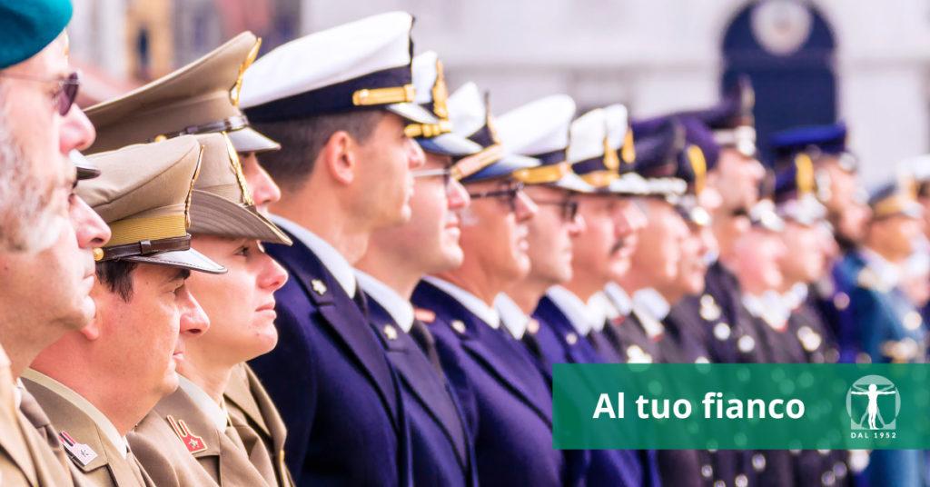 Risarcimento danni lavoro militare forze armate, Infortunistica Tossani