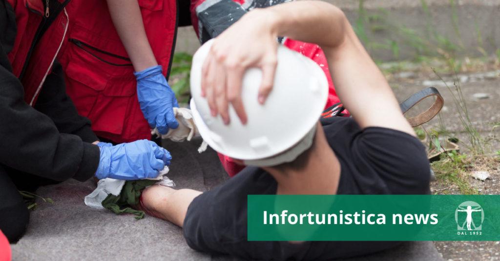 Lavoratore infortunato e primo soccorso, Infortunistica Tossani