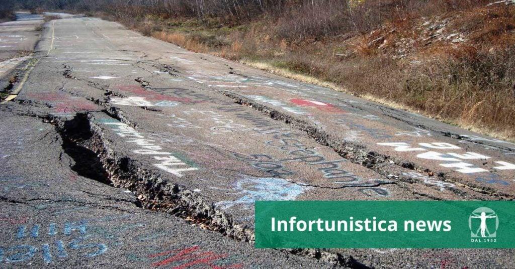 Manto stradale dissestato, Infortunistica Tossani