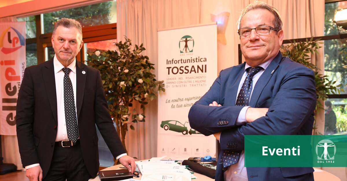Luigi Peron e Mauro Santori a Forum Scacf, Infortunistica Tossani