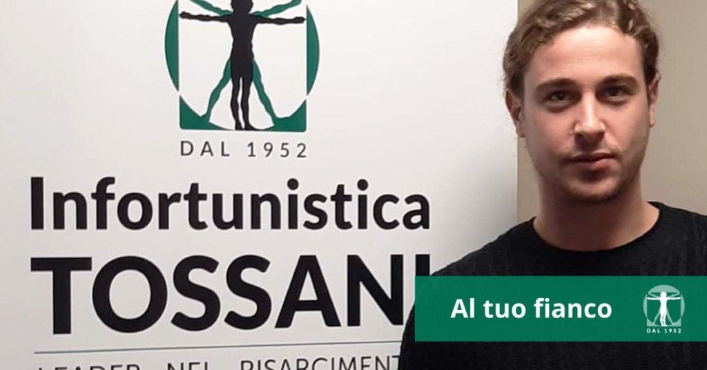 Guglielmo Pinelli attore, Infortunistica Tossani
