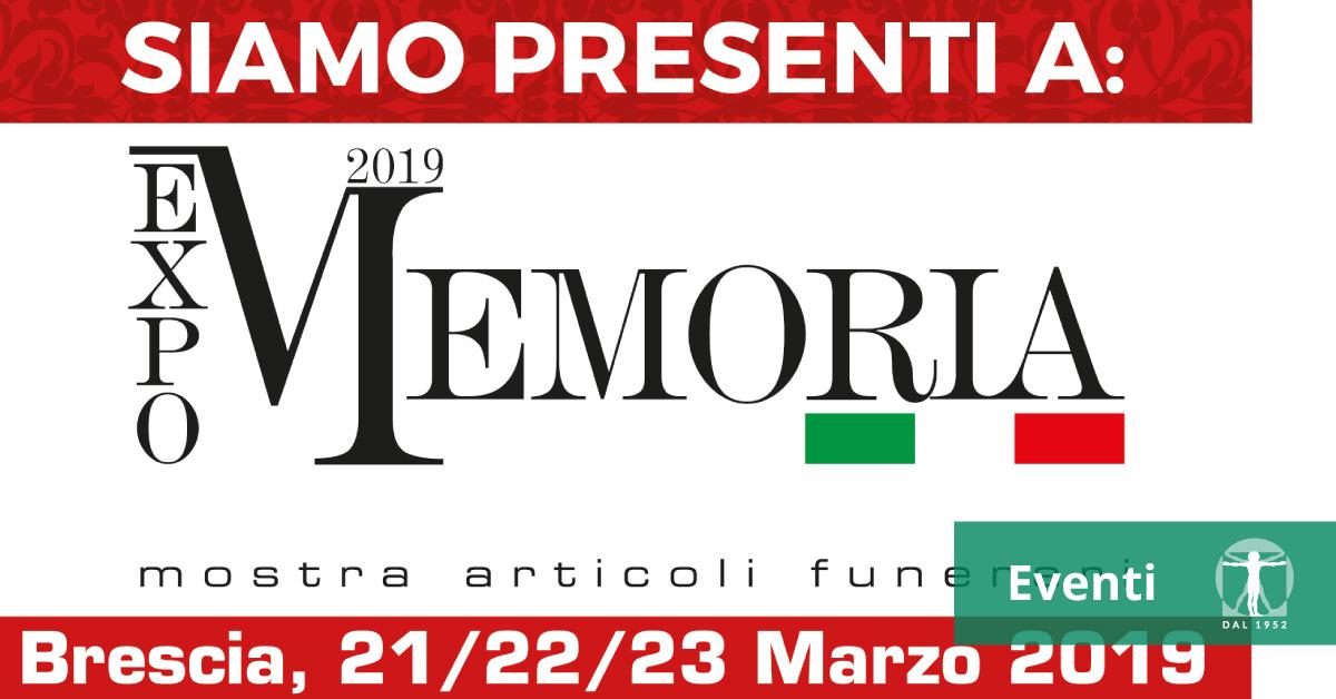Locandina Memoria Expo 2019, Infortunistica Tossani