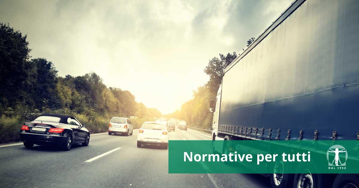 autostrada e veicoli