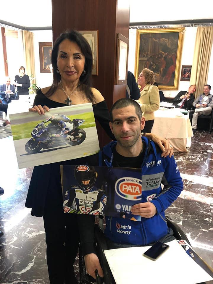 Max Sontacchi e la signora Tossani