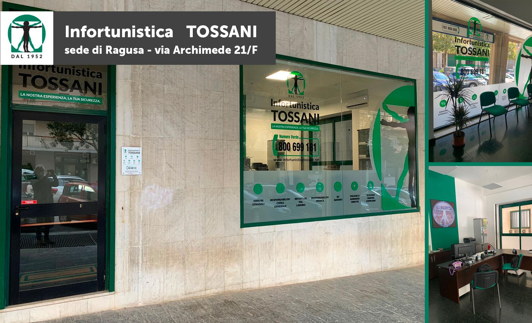 Nuova sede di Infortunistica Tossani